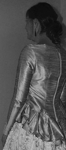 chaqueta femenina de Fiesta